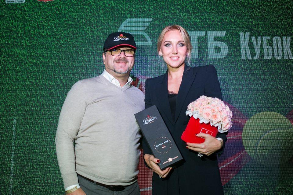 Анатолий Корнеев и Елена Веснина